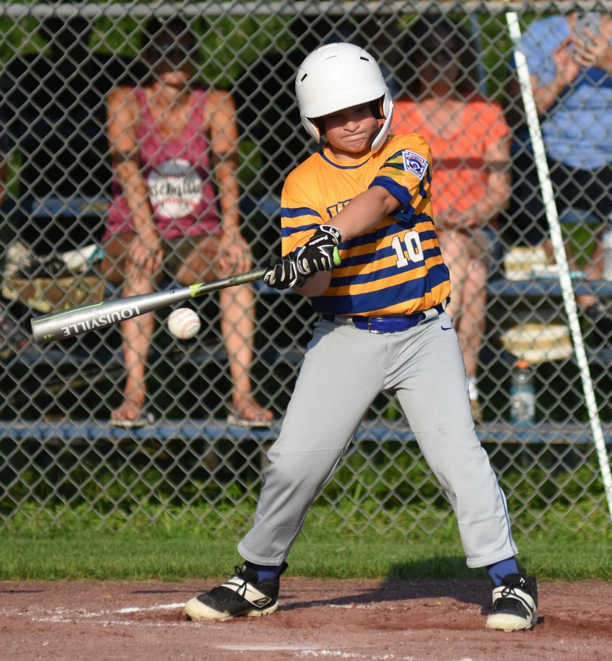 LITTLE LEAGUE BASEBALL: Colonie eliminates Hudson 10-12s in sectionals