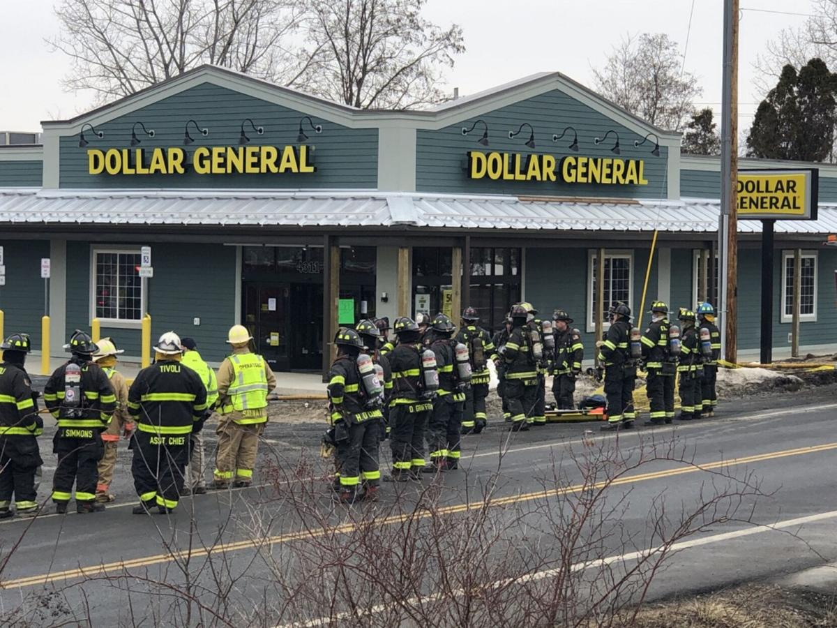 Gas leak, fire shutter Germantown store