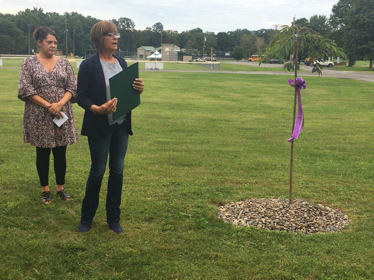Memorial tree honors overdose victims