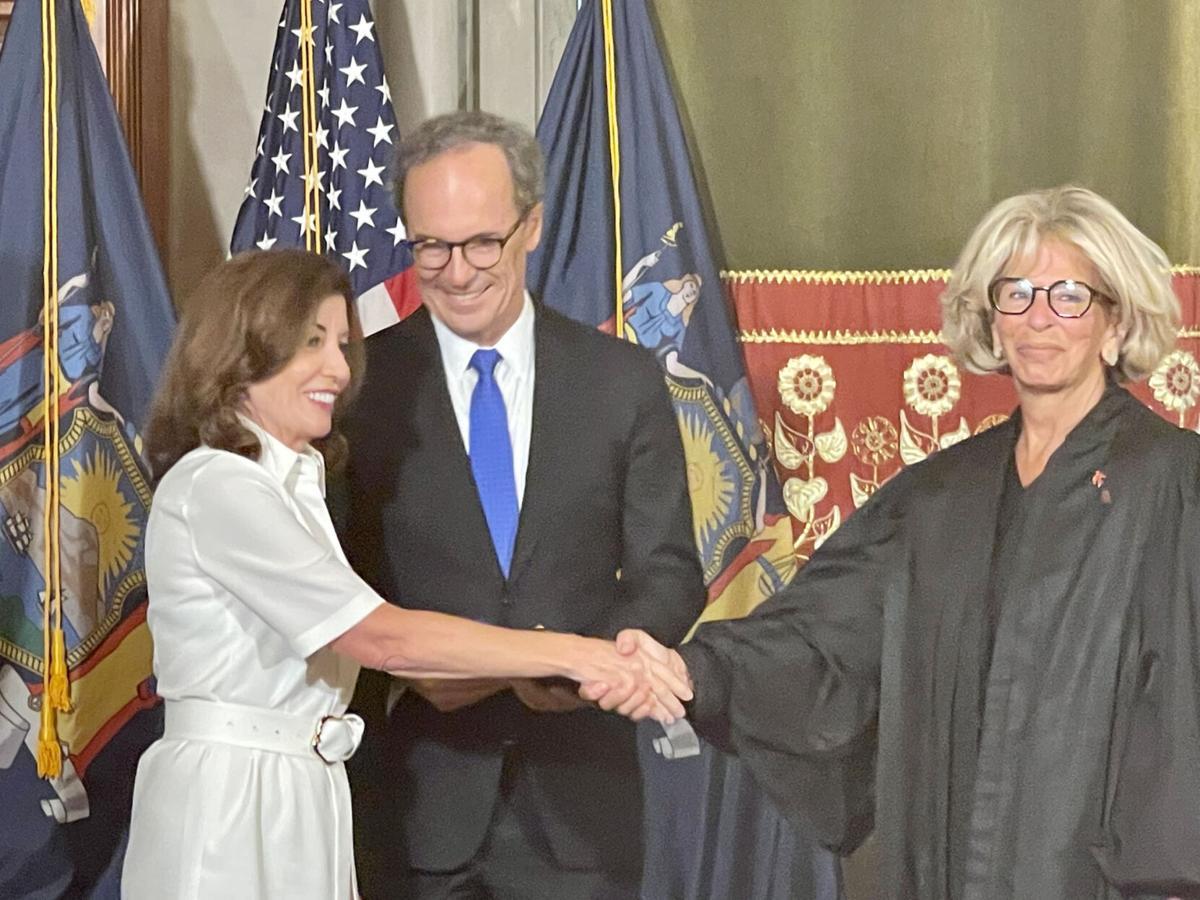 Hochul takes oath of office