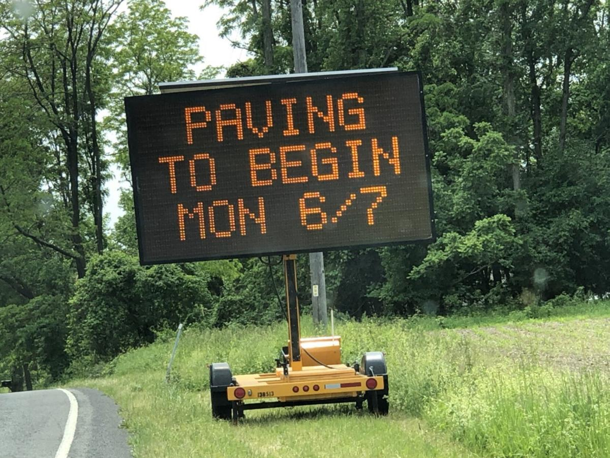 Paving project to slow traffic between Athens and Coxsackie