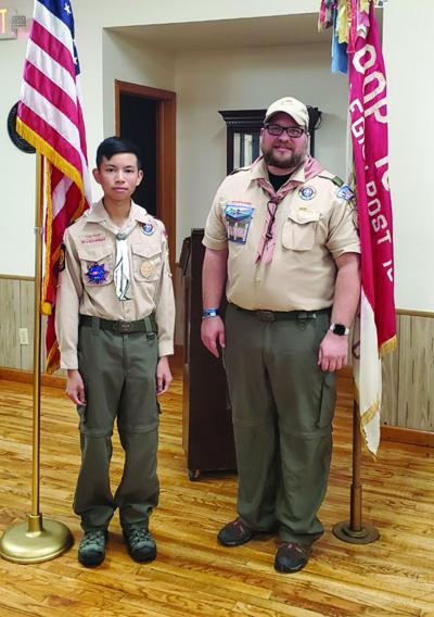 Hudson Scout awarded 98 Merit Badges in Court of Honor Ceremony