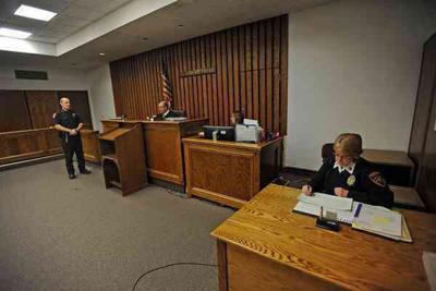 Court in session, but postponements extended