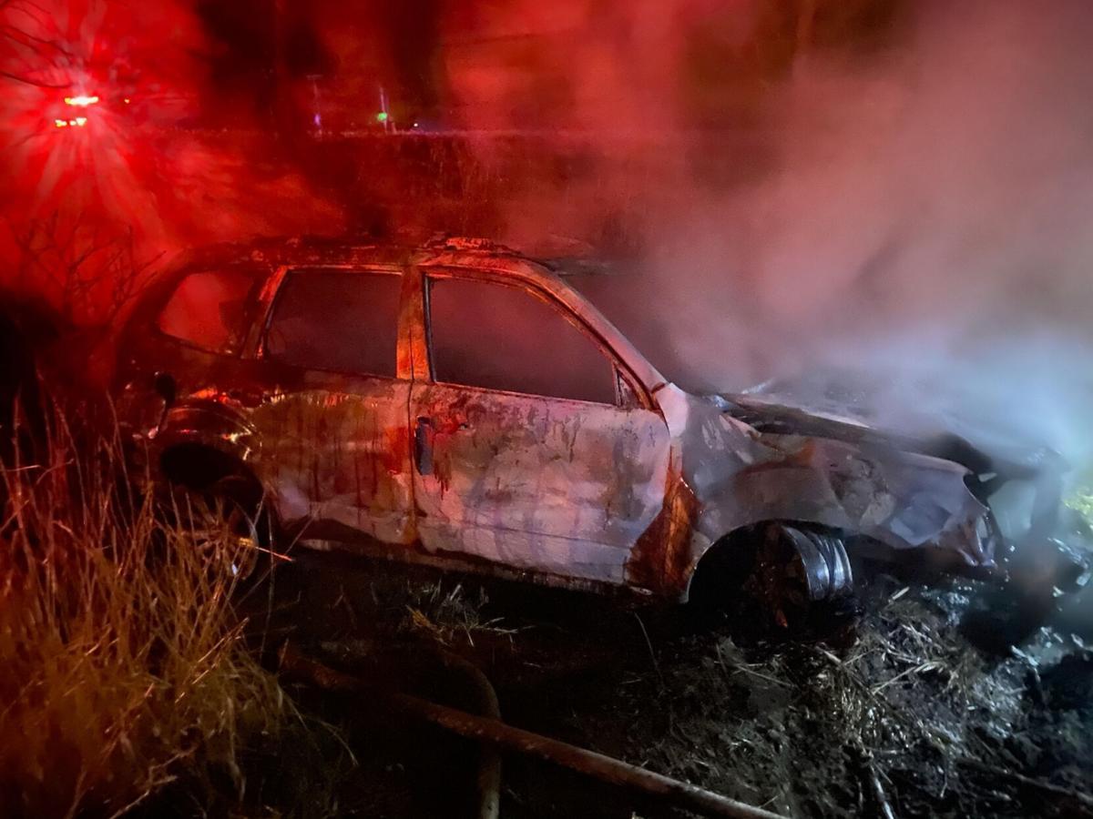 Police: Kinderhook man injured after accident, car fire