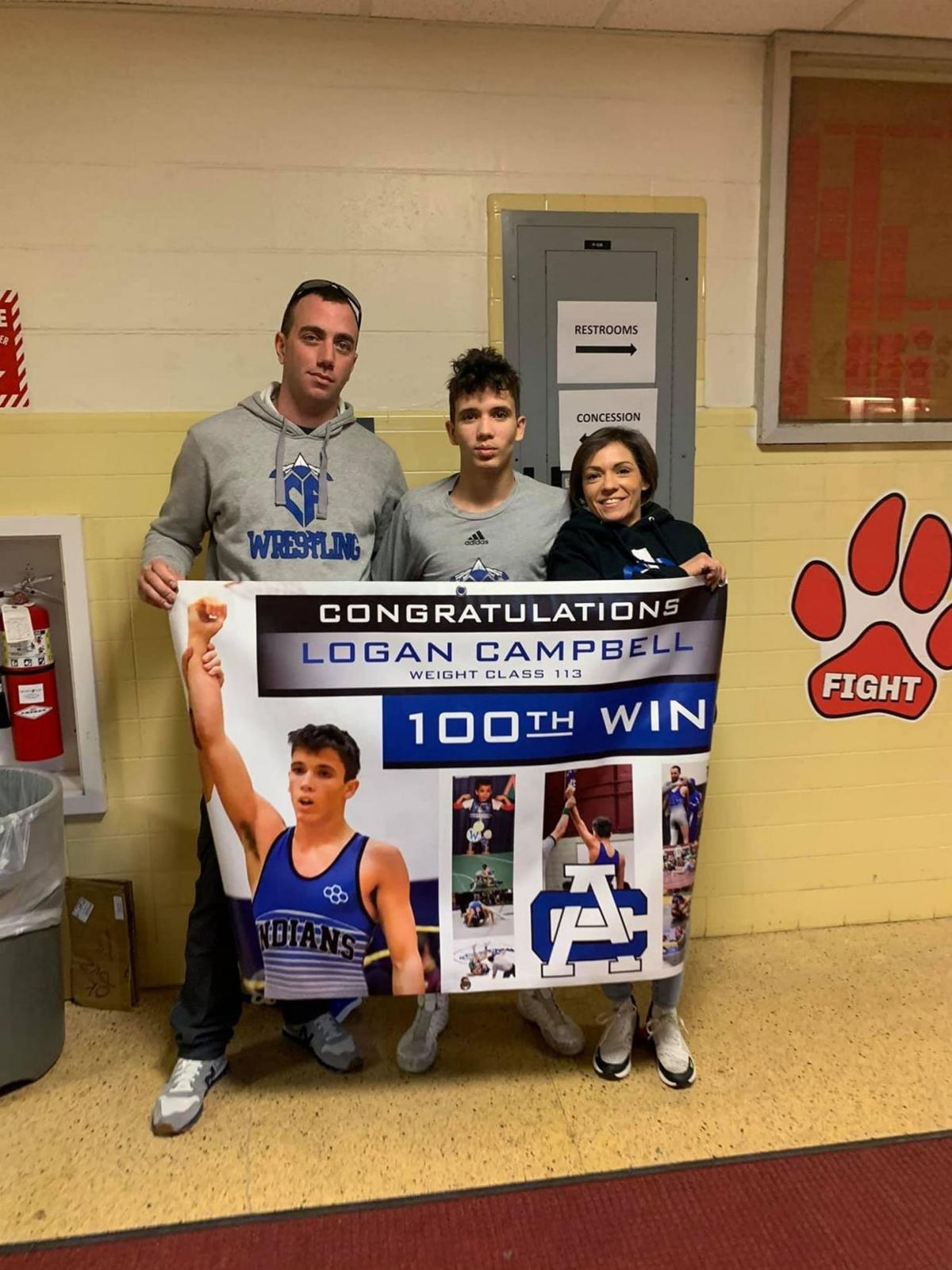 Local wrestlers stand out at Section II championships