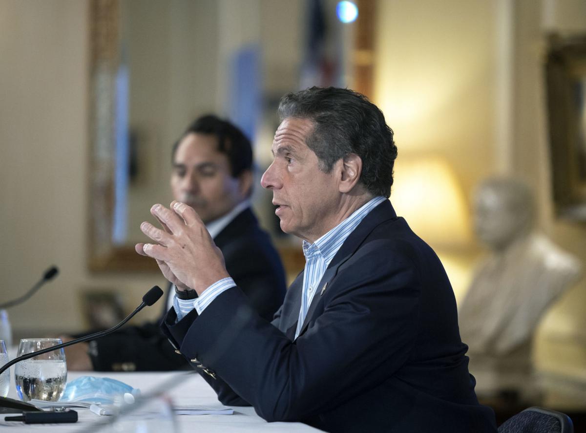 NY imposes 14-day quarantine for travelers