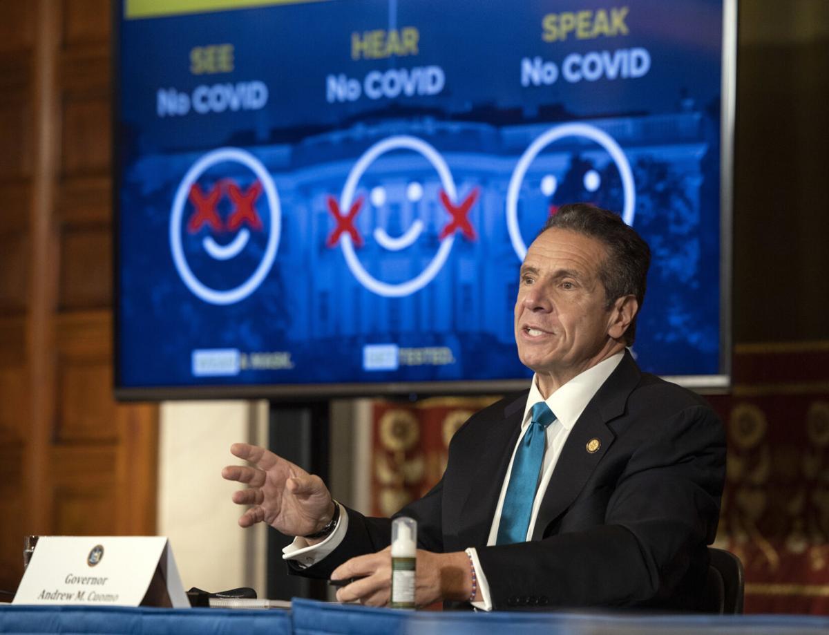 Cuomo: Low NY COVID spread proves virus control works