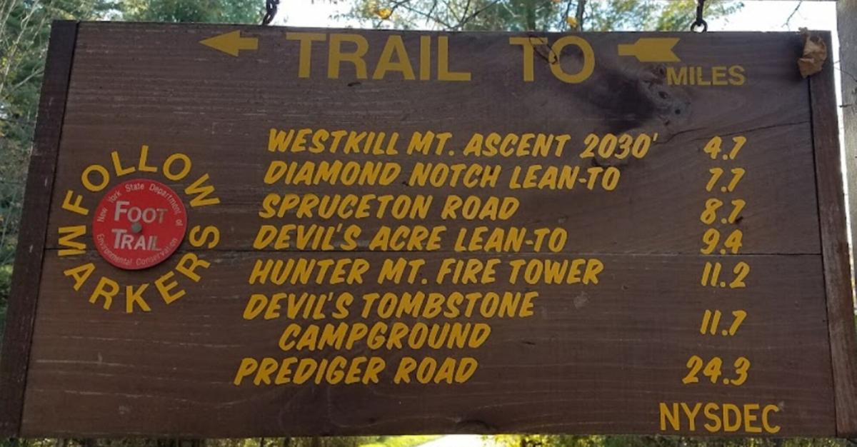 Lost hiker rescued in Hunter