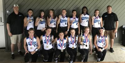 SOFTBALL ROUNDUP: Chaos fare well in tourney; Chatham 8-10s roll