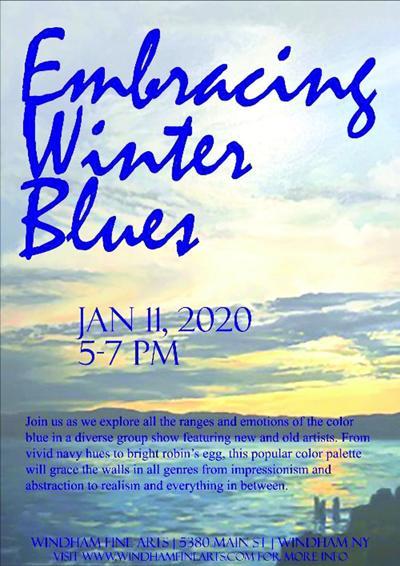 'Embracing Winter Blues'