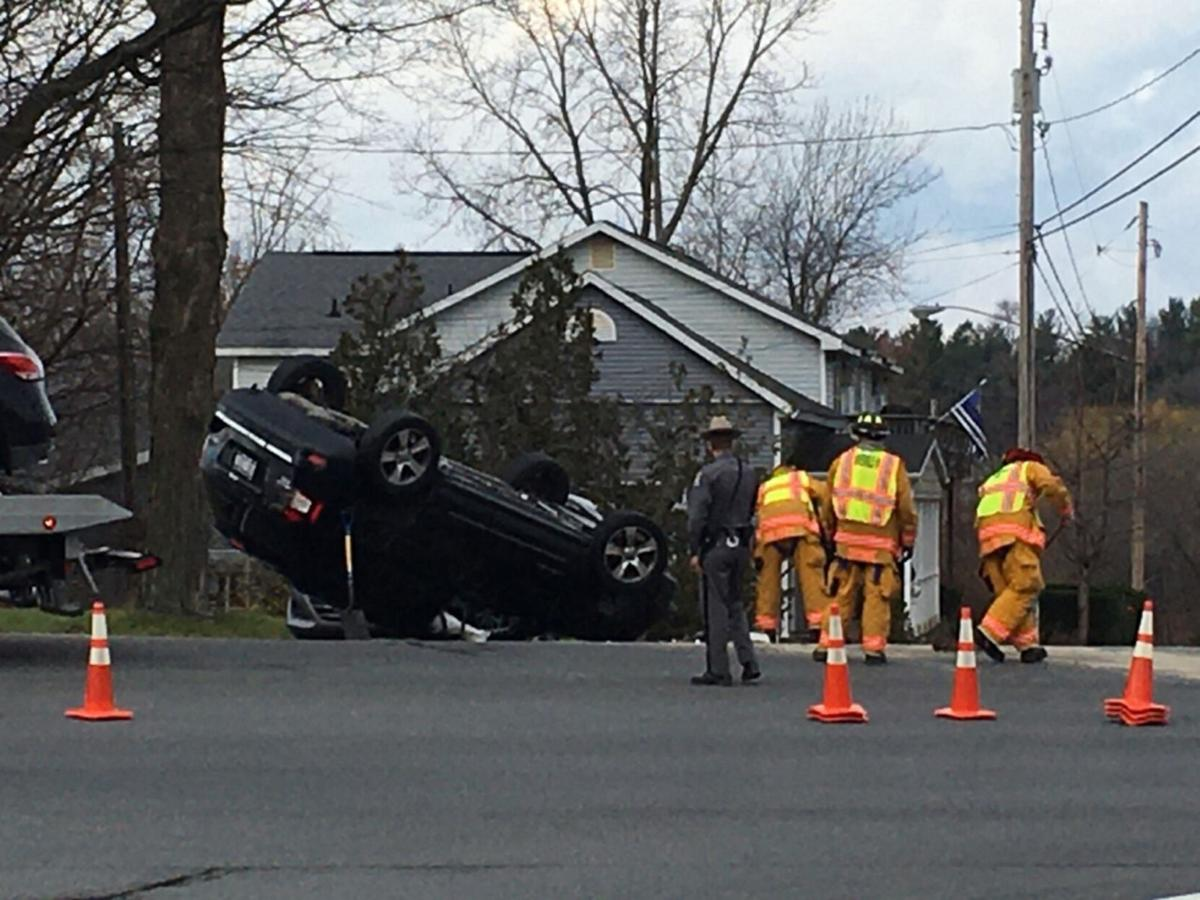3-vehicle crash sends one to Albany Medical Center