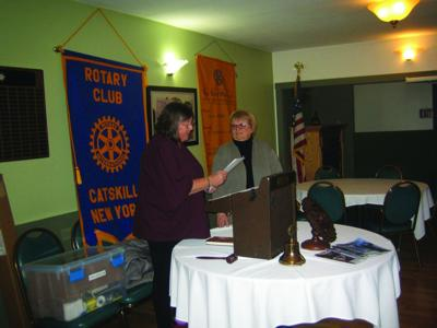 Catskill Rotary welcomes new member