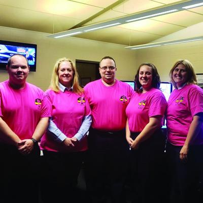County dispatchers 'Go Pink'