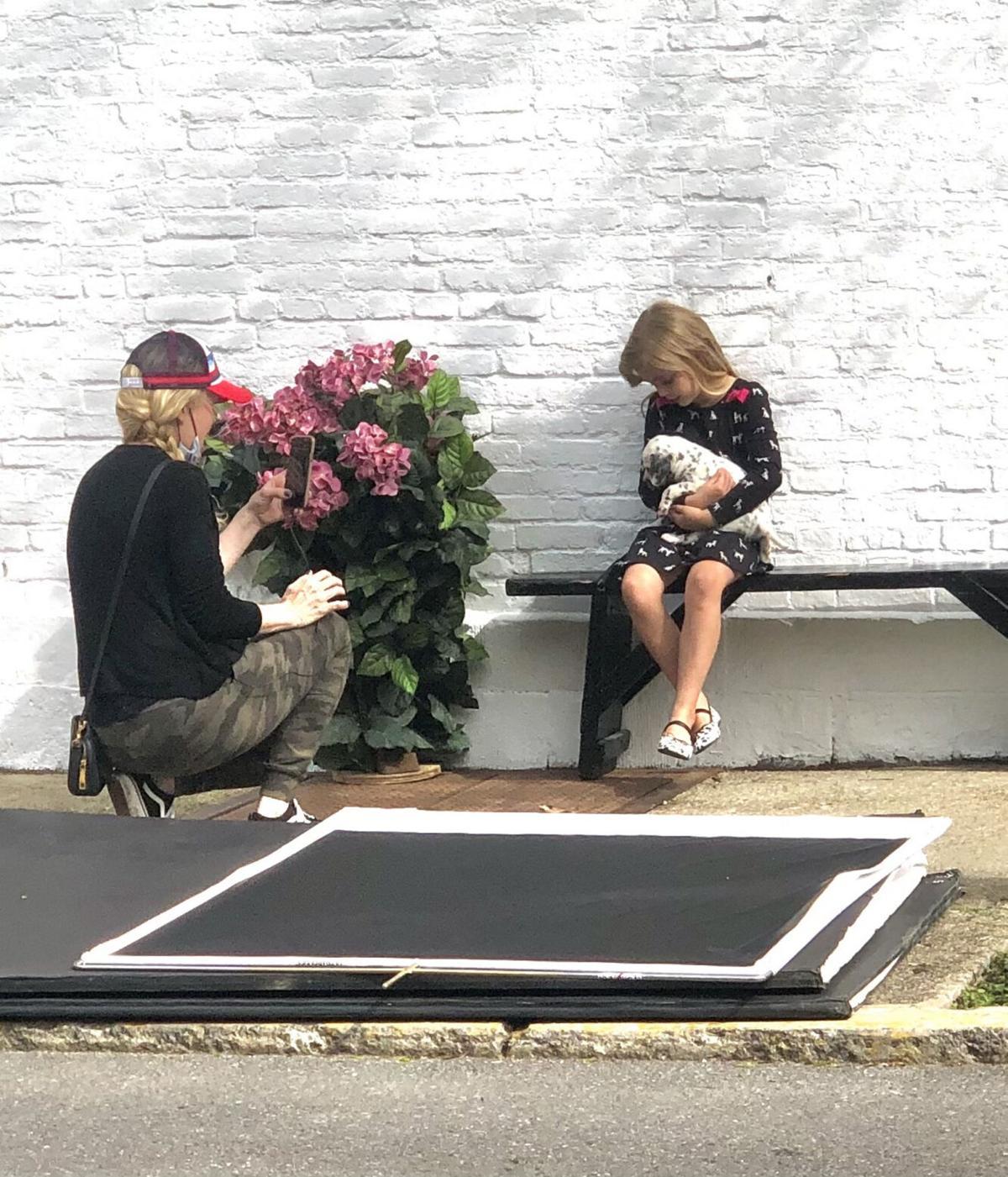 Children star in Hudson photo shoot