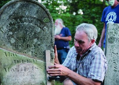 Palenville Cemetery workshop all about maintenance and repair