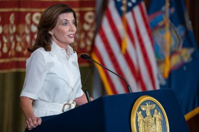 Hochul pledges a new beginning in Albany