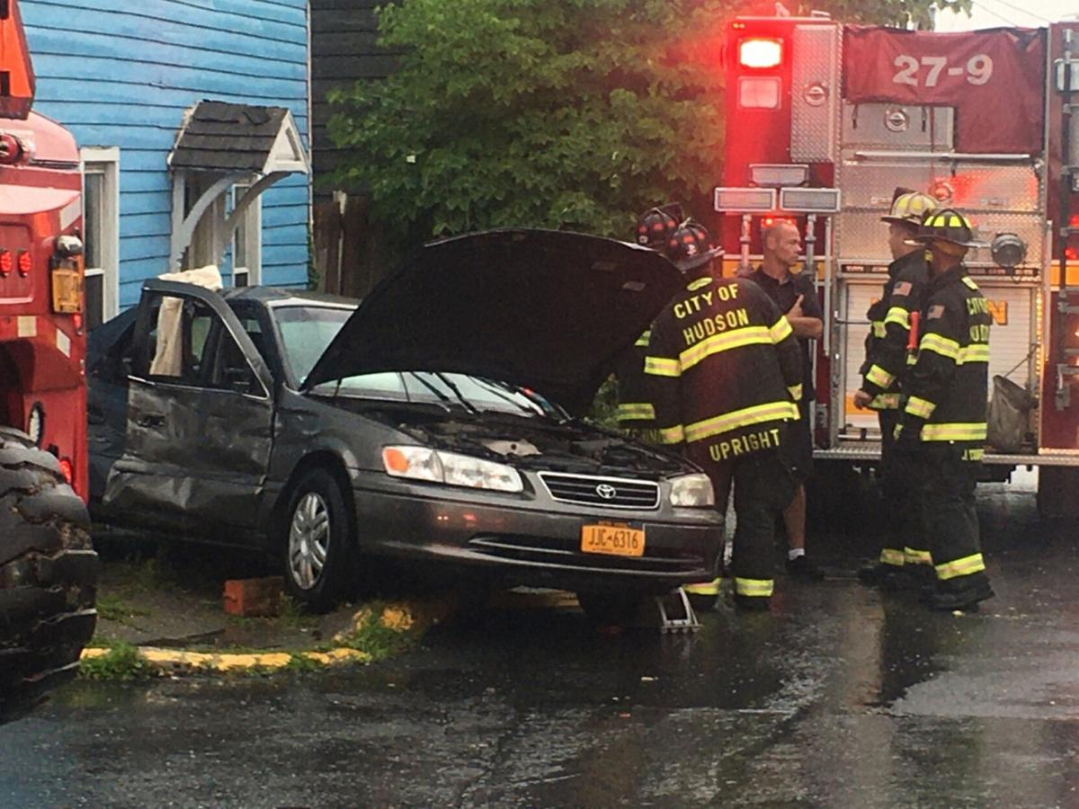 Hudson accident sends two to Columbia Memorial