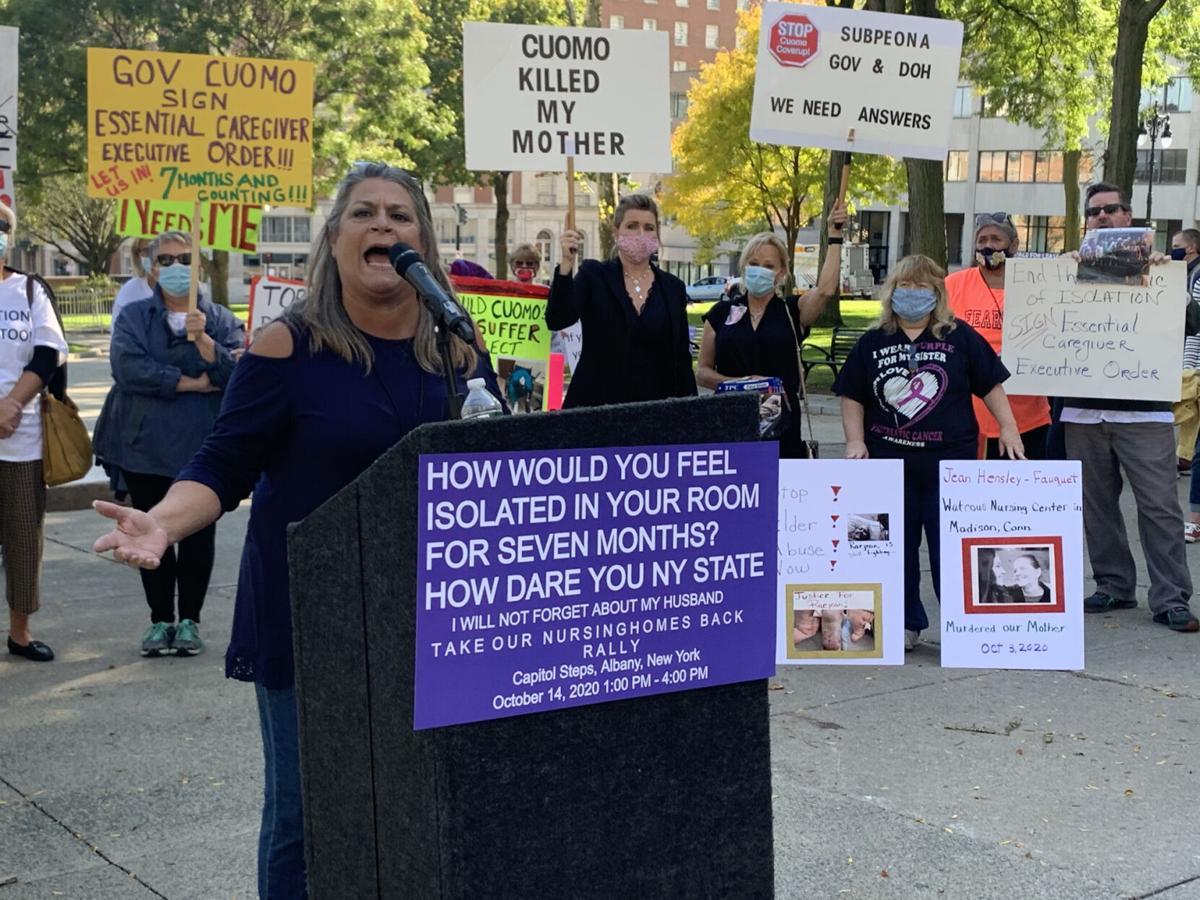 Nursing home advocates: 'Let us in'