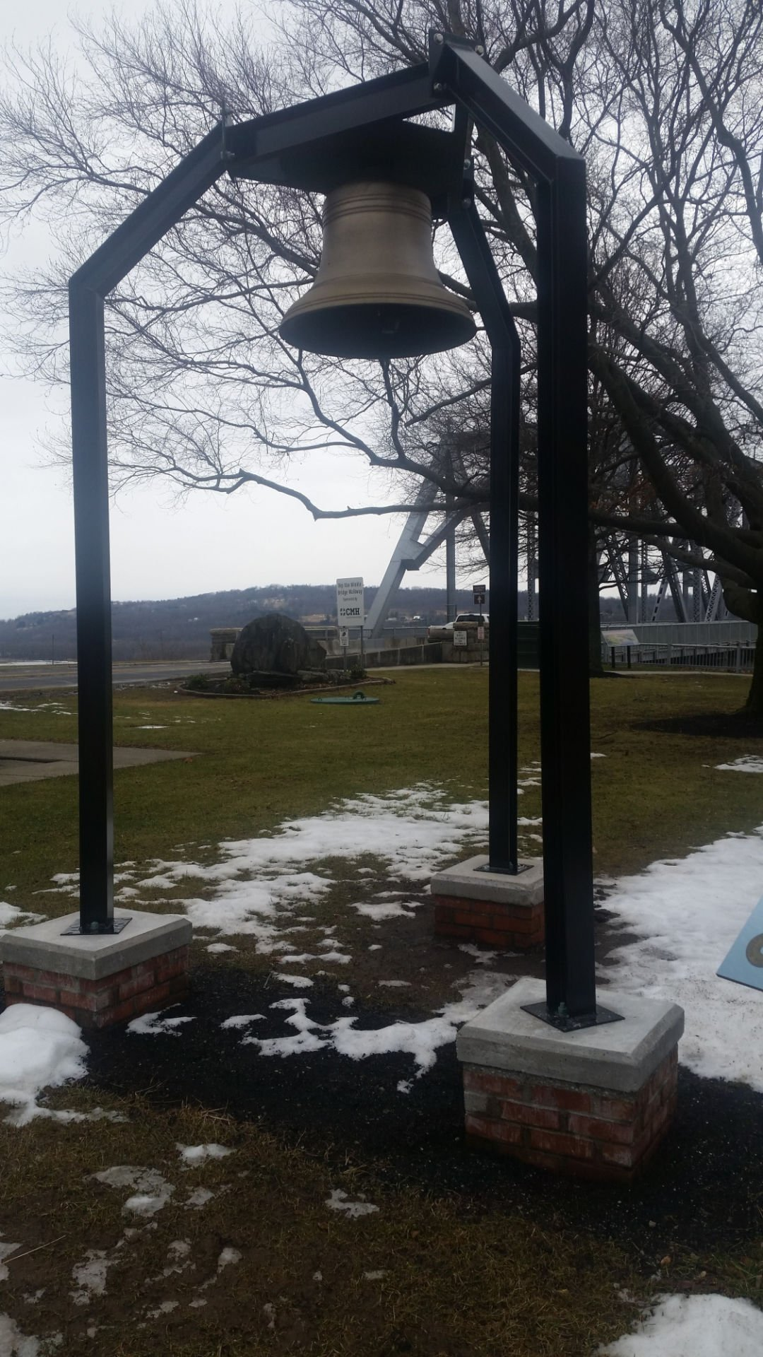 Bridge's historic bell is restored