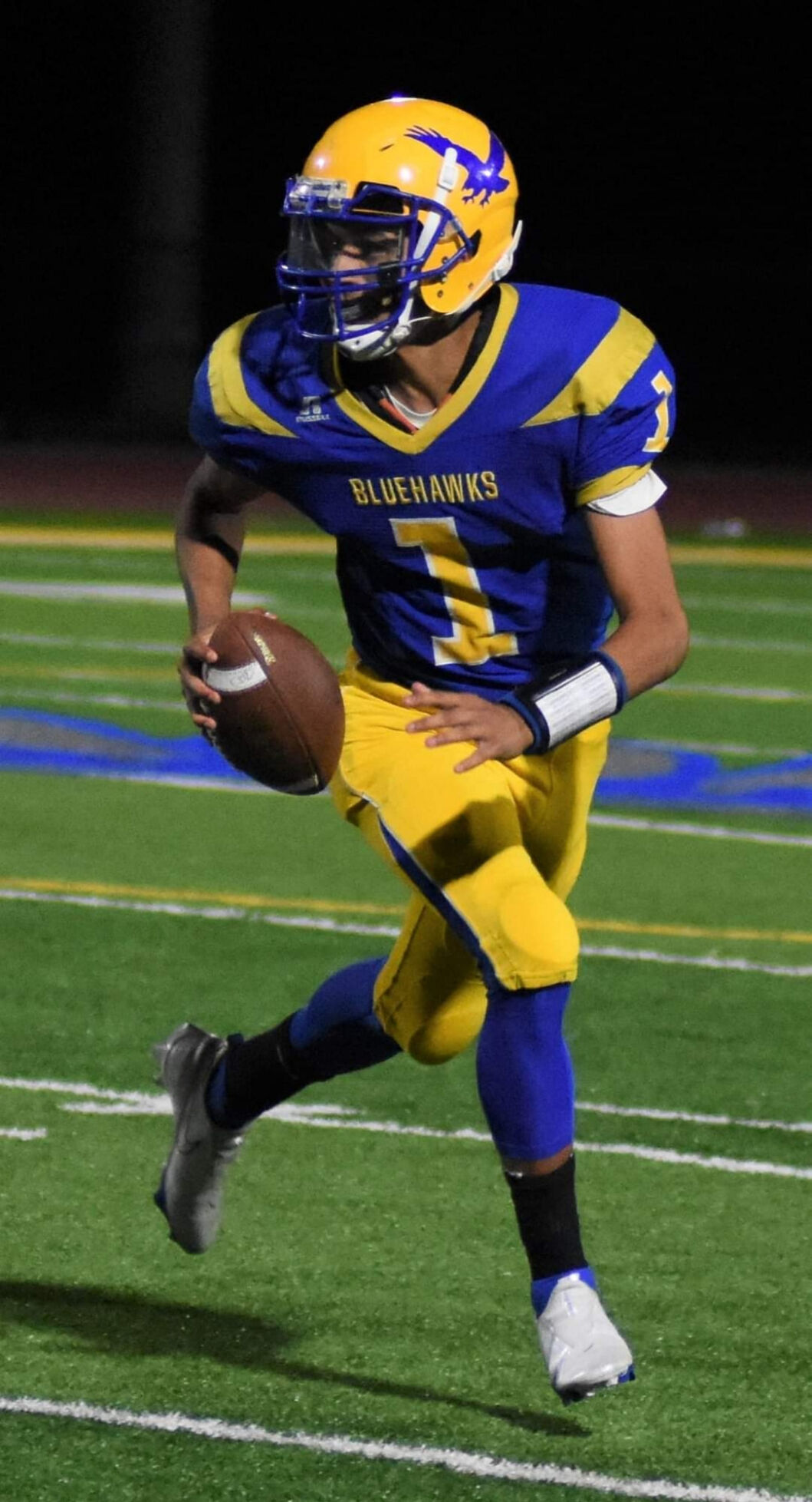 H.S. FOOTBALL: Hudson faces key game against Voorheesville