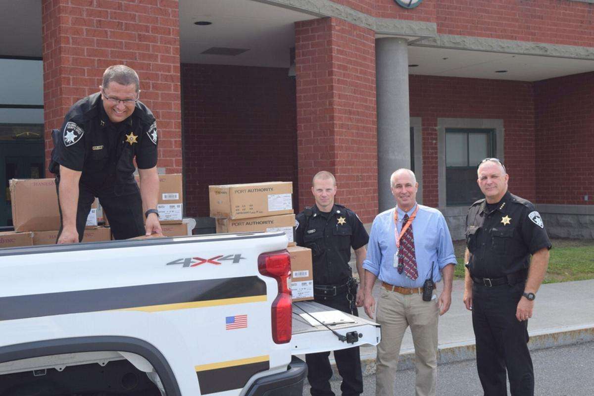 Sheriff's office delivers school masks
