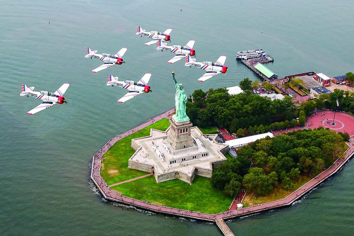 GEICO Skytypers Air Show Team to perform during The New York International Air Show