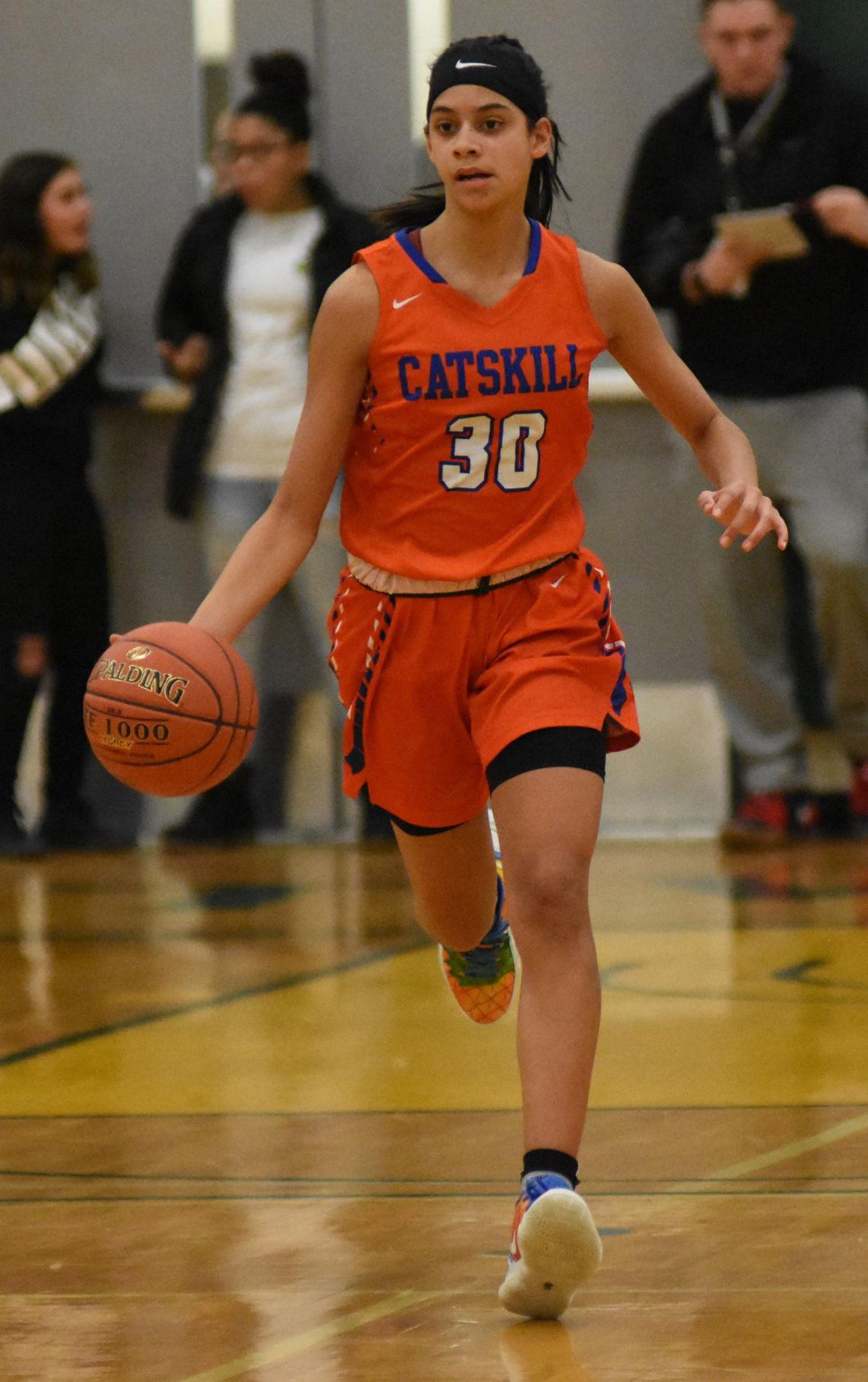 GIRLS BASKETBALL: Hudson pulls away from Catskill