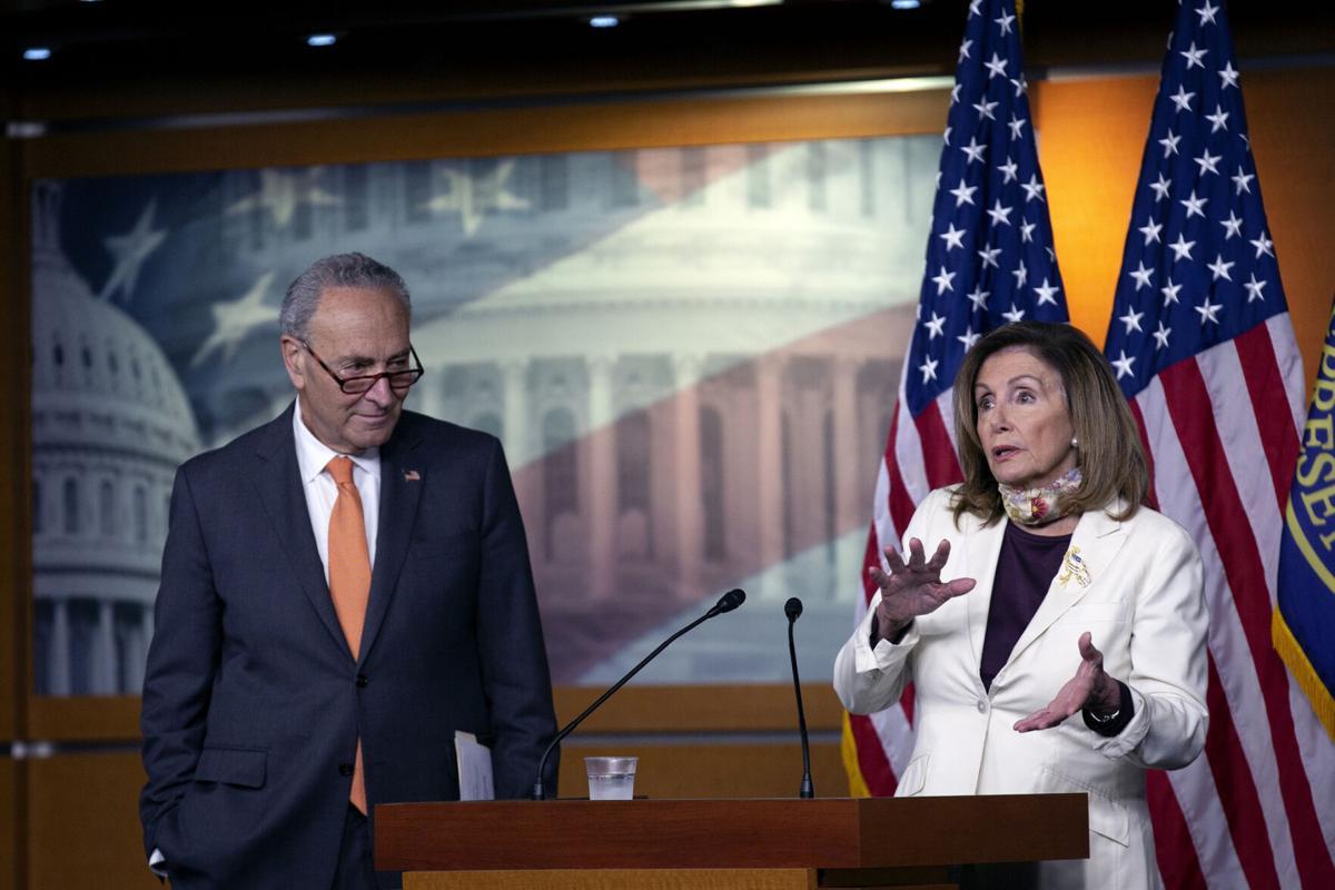 Top Dems back virus relief bill