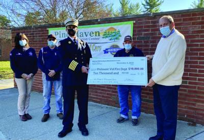 Philmont Volunteer Fire Company receives donation