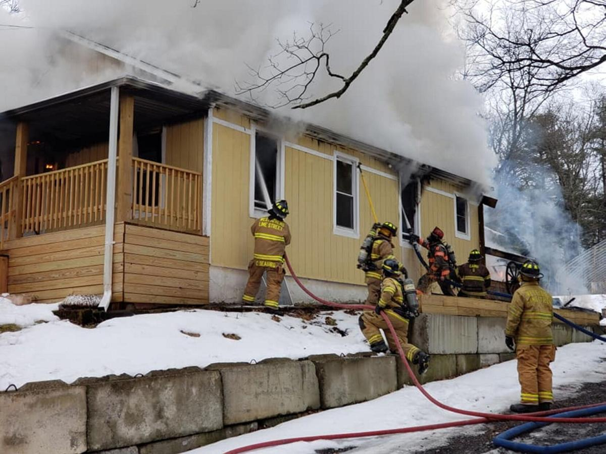 Athens home destroyed by fast-moving fire