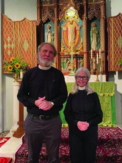 New priests at Christ Church Episcopal Hudson