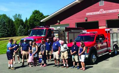 Spencertown Fire Company presents scholarship