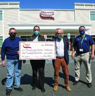 Stewart's Shops donates to Journalism Program for students