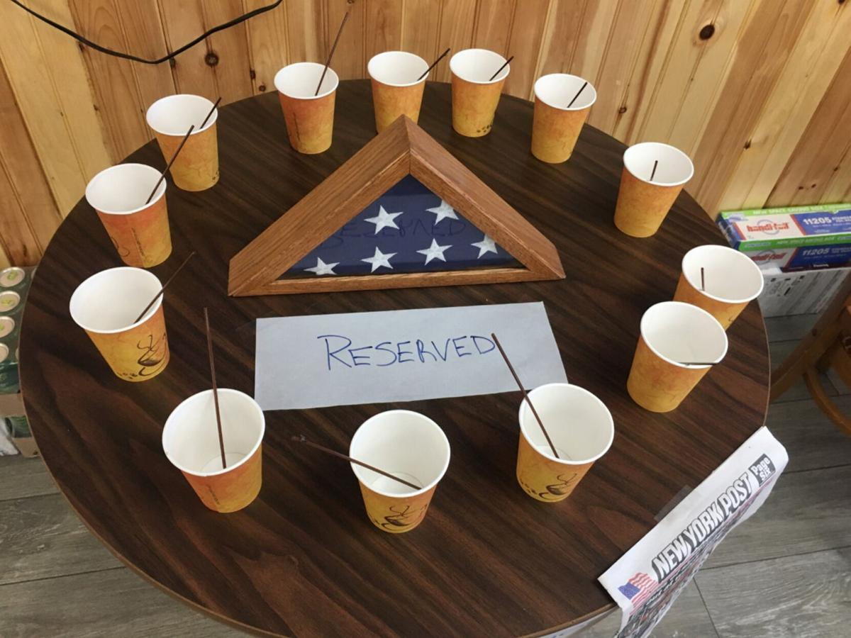 Setting a Table of Honor for the fallen