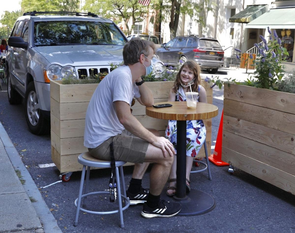 Concrete barriers required for Shared Streets