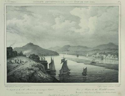 An early scene of Athens and Hudson