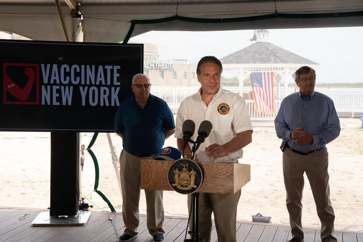 A Shot in the Park: Get a vaccine, get a free NY pass