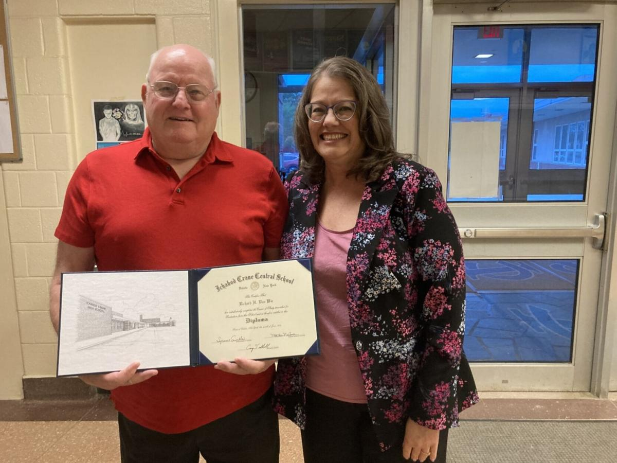 Marine Corps veteran, 80, receives diploma in emotional ceremony