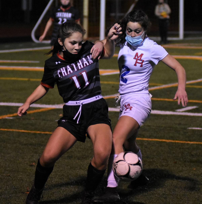 GIRLS SOCCER: Maple Hill edges Chatham in OT, Greenville beats Cairo-Durham