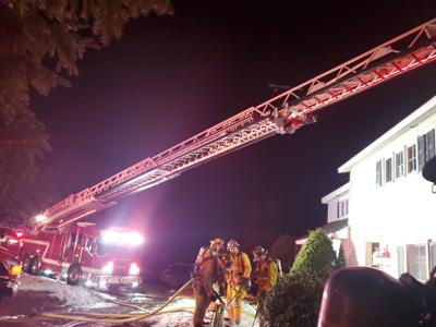 Stuyvesant home damaged in blaze