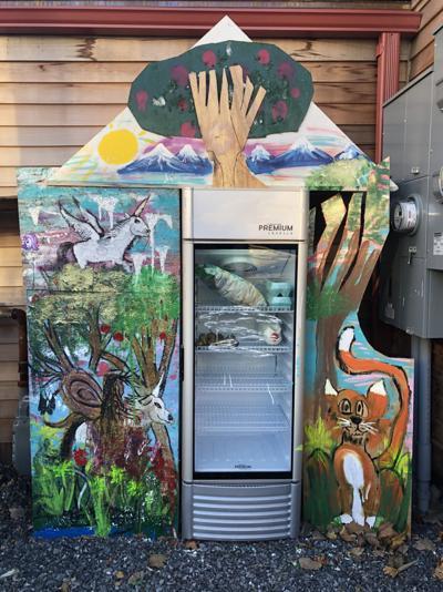 Businesses opening community refrigerators