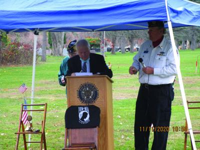Honeyford Memorial American Legion honors vets on Nov. 11