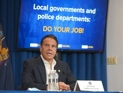 Cuomo issues warning for bars, restaurants