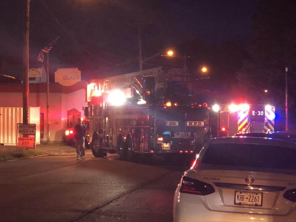 Electrical fire on Green Street