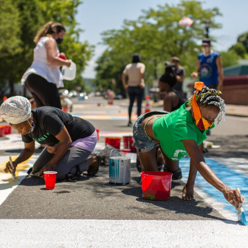 Black Lives Matter mural reflects unity, artistic spirit
