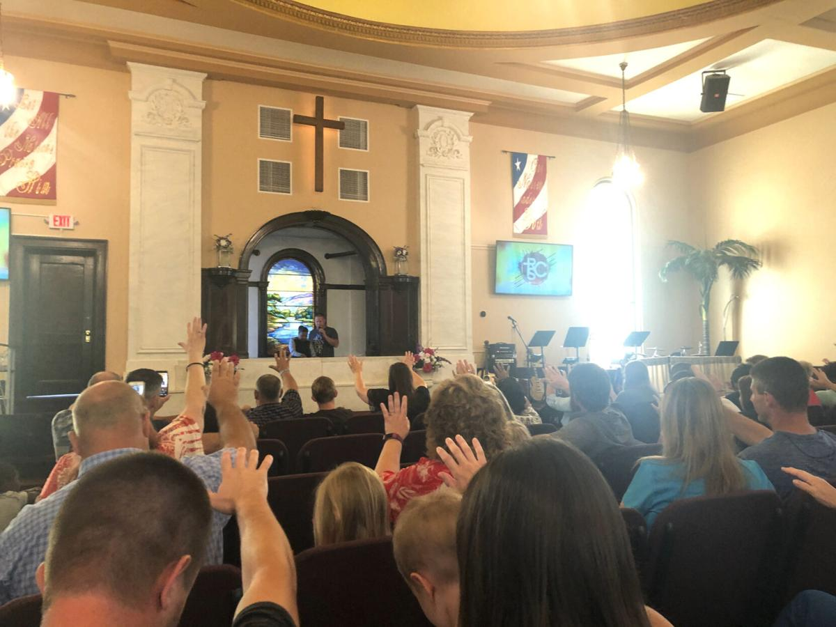 Churches' reaction to COVID rules vary