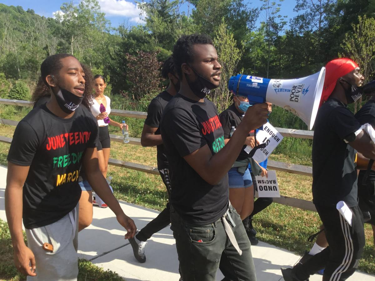 Juneteenth rallying cry: 'Enough is enough'