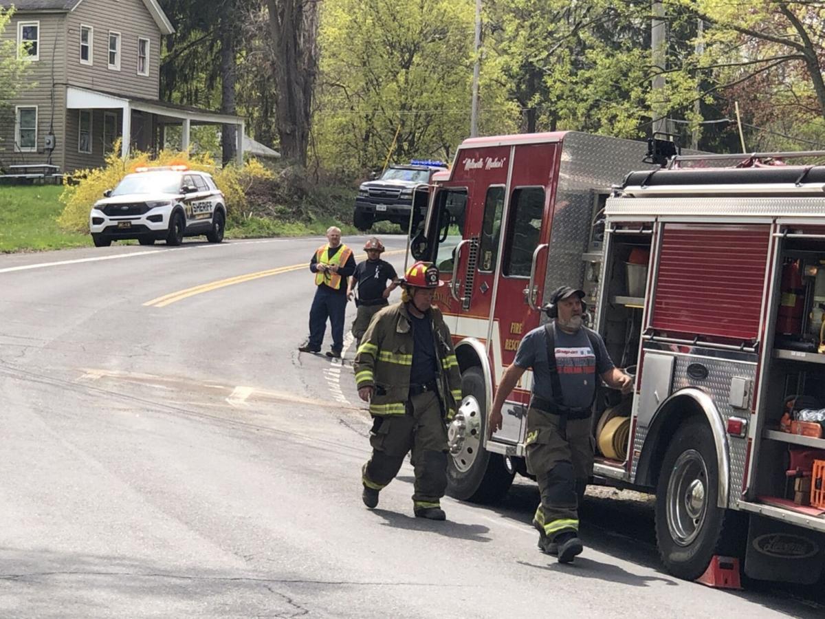 Police investigate crash in Mellenville
