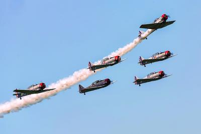 GEICO Skytypers Air Show Team Performs for the First Time at the Greater Binghamton Air Show