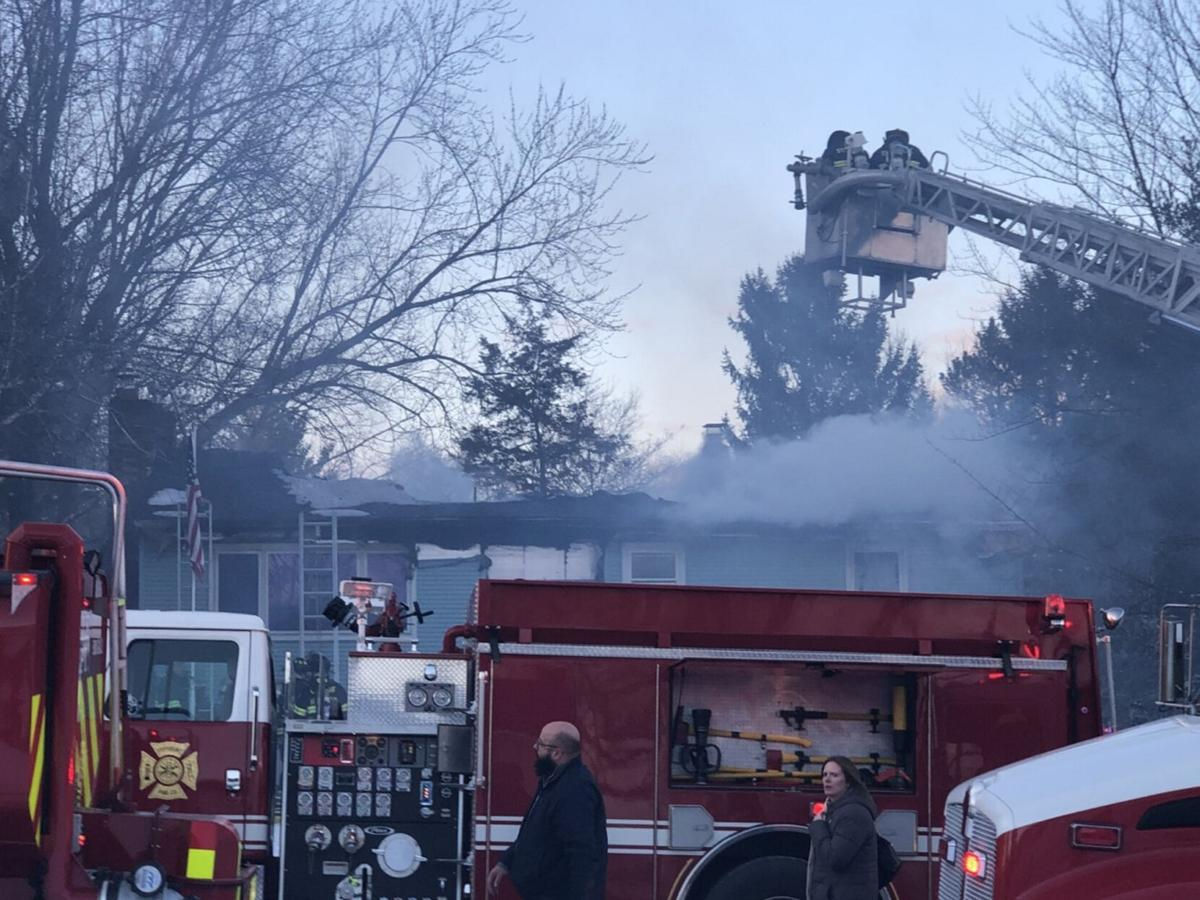Stuyvesant Falls fire accidental; cat dies